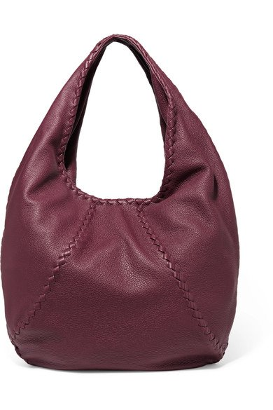 18d8f36e5cd BOTTEGA VENETA beautiful Hobo large textured-leather shoulder bag ...