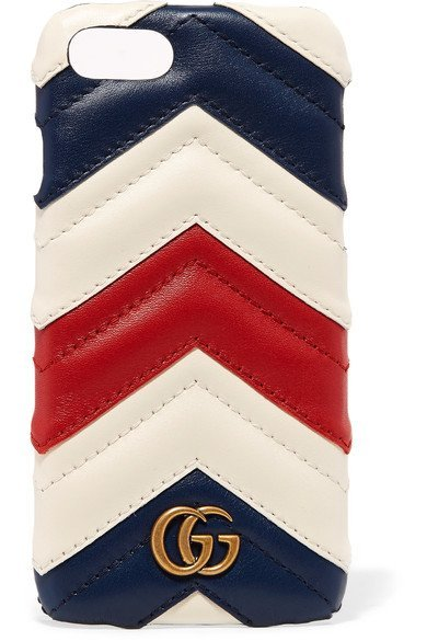 GUCCI elegant Quilted leather iPhone 7 case