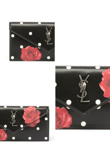 Saint Laurent Le Sept Small V-Flap Clutch Bag