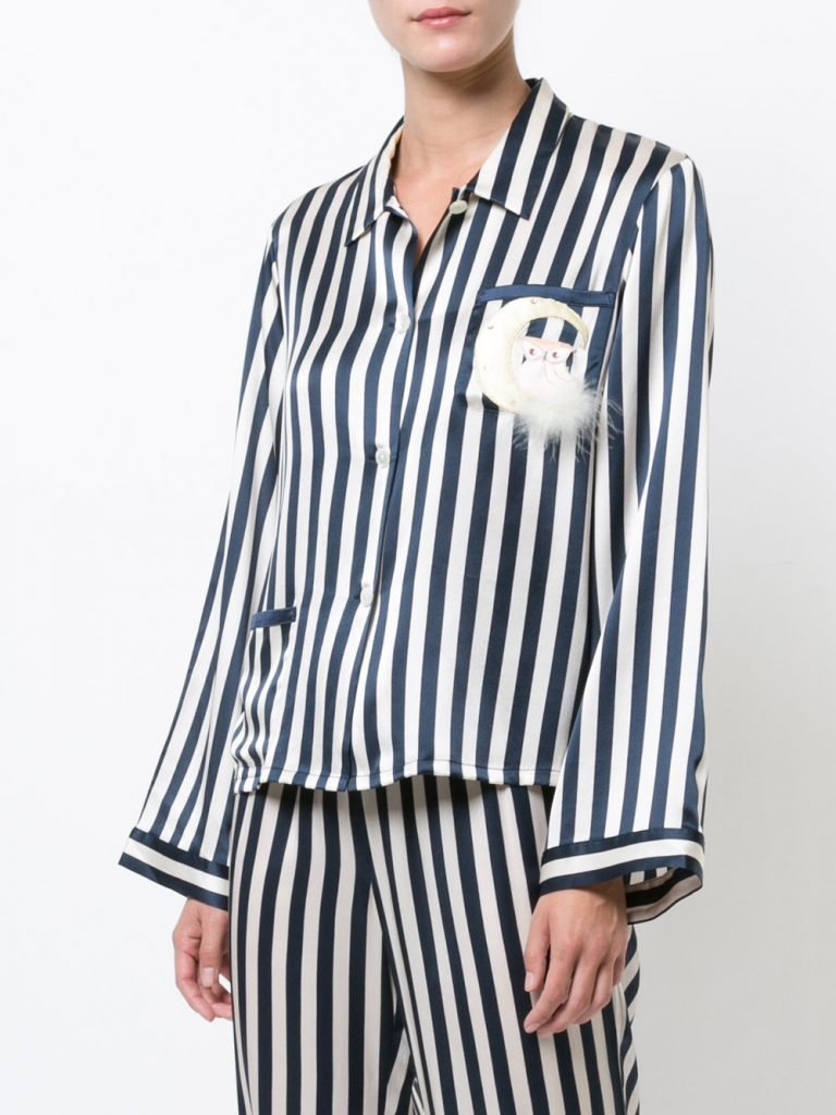 MORGAN LANE Owl on the Moon Ruthie top