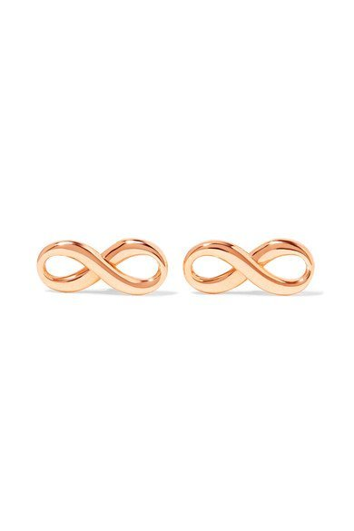 Tiffany Amp Co T Wire Glamorous 18 Karat Rose Gold Hoop
