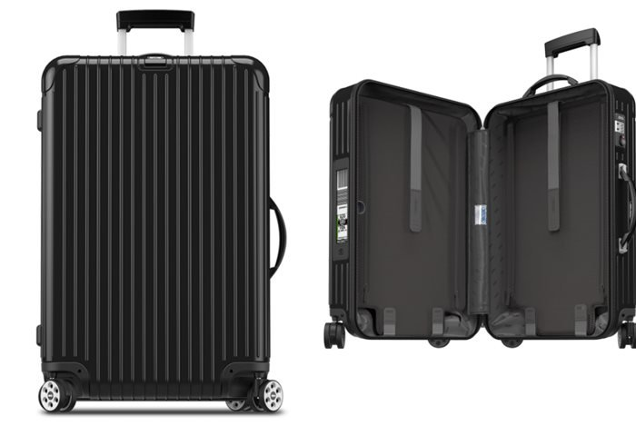 Rimowa North America Salsa Deluxe Electronic Tag 29 Multiwheel Luggage