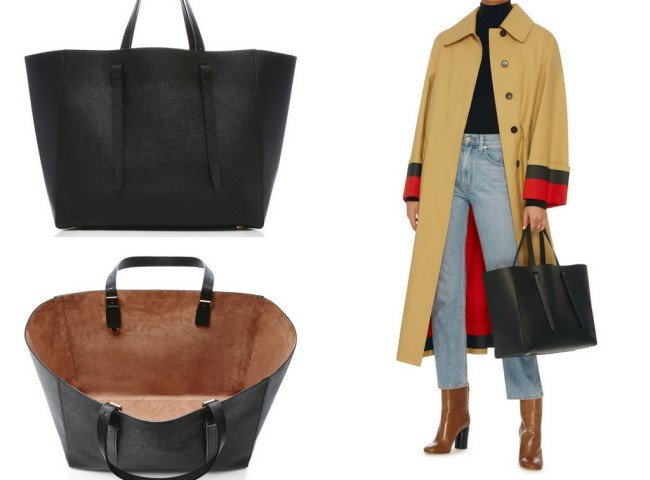 Valextra Soft Leather Tote