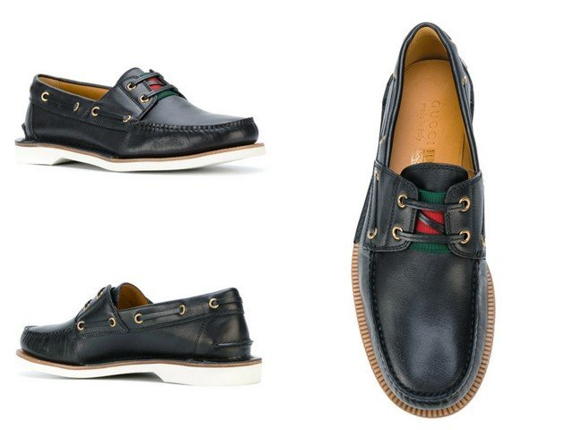 GUCCI Boat shoes