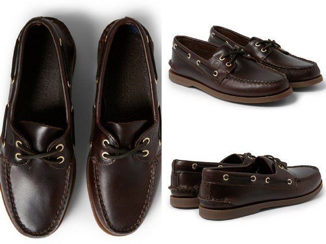 SPERRY TOP-SIDER Authentic Original Burnished-Leather Boat Shoes