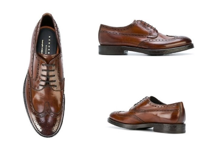 Henderson Baracco Lace Up Brogues