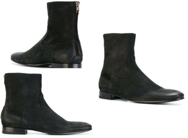 PETE SORENSEN fitted chelsea boots