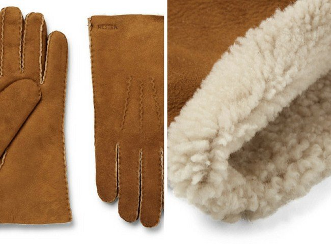 Hestra Shearling Gloves