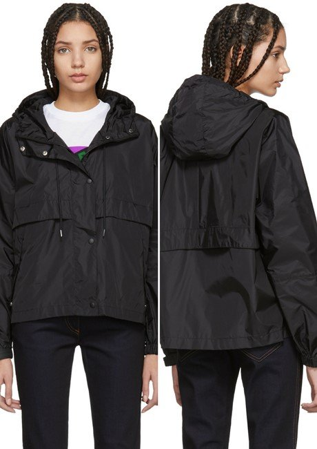 Prada Black Nylon Waterproof Jacket