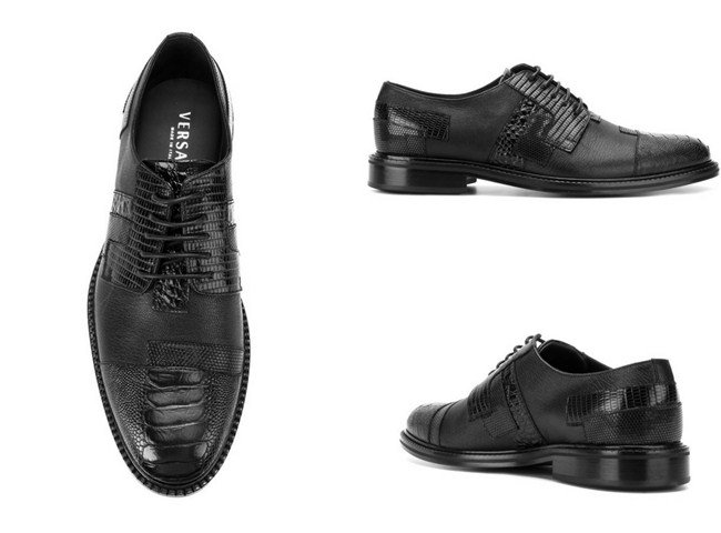 Versace lace-up brogues
