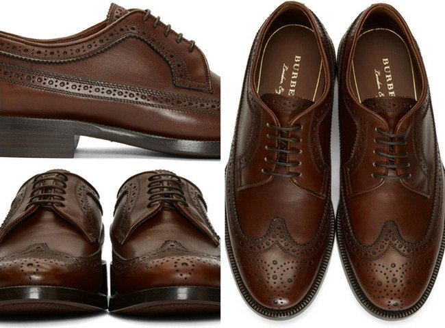 Burberry Brown Aleighton Brogues