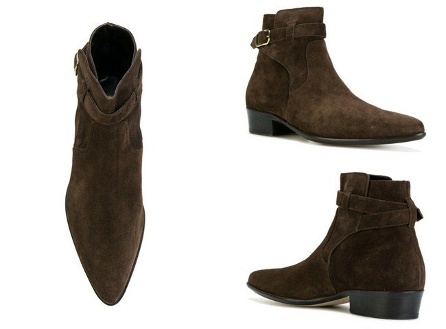 Paul Smith buckled ankle boot