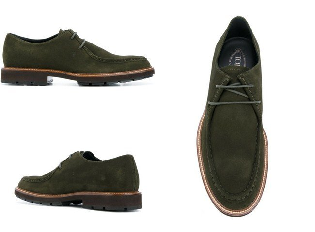 Tod's boat shoes