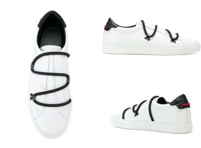 Givenchy bicolour matte Low sneakers