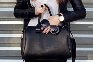 Top 9 Most-Treasured BLACK Designer Leather Tote Bags (Women)