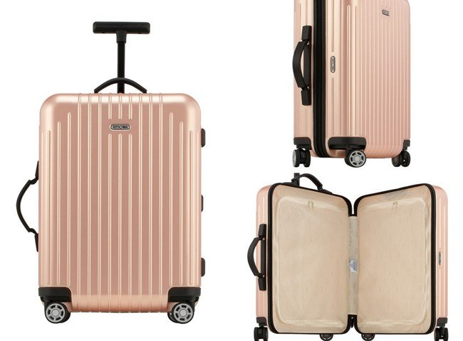 Rimowa North America Salsa Air Cabin Multiwheel® Spinner Luggage, Pearl Rose