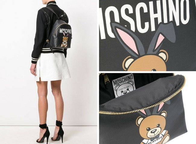 MOSCHINO Playboy Toy Bear backpack