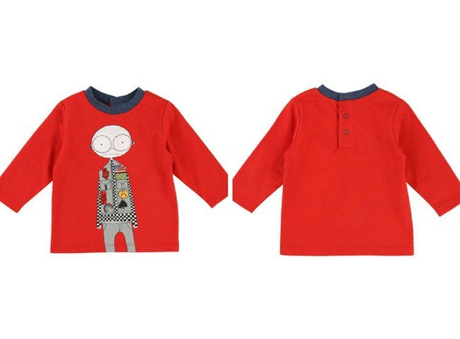Little Marc Jacobs Mister Marc Essentials Long-Sleeve Graphic Tee