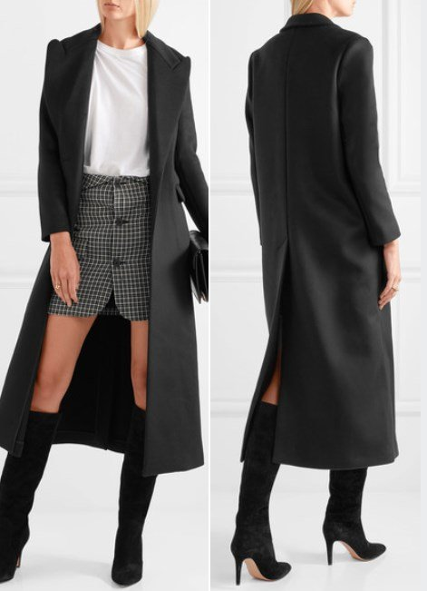 Isabel Marant Classy Fraley Wool And Cashmere-Blend Coat