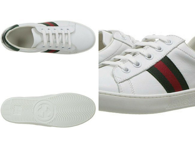 Gucci Kids New Ace Sneakers