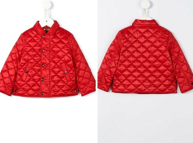 Burberry Kids Luke Quilted Jacket