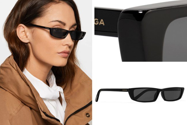 Balenciaga Cat Eye Acetate Sunglasses