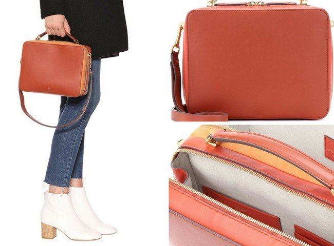ANYA HINDMARCH Stack leather tote
