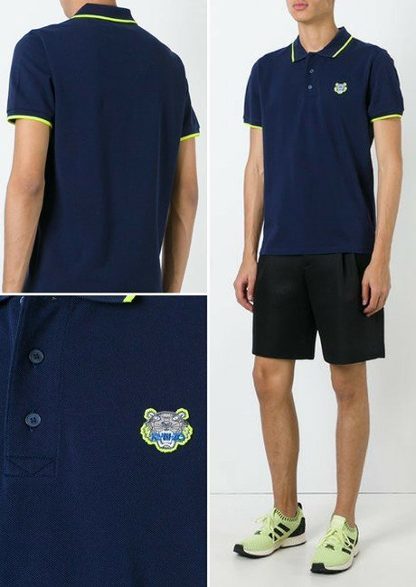 KENZO 'Mini Tiger' polo shirt