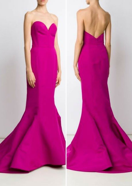 CHRISTIAN SIRIANO sweetheart neck gown