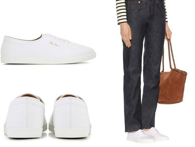 THE ROWDean canvas sneakers