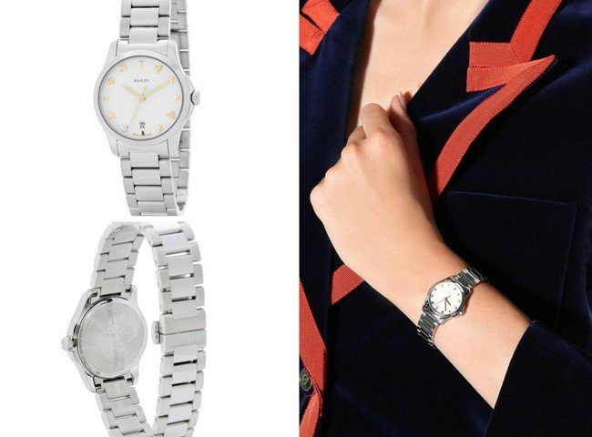 GUCCI Timeless Small steel watch