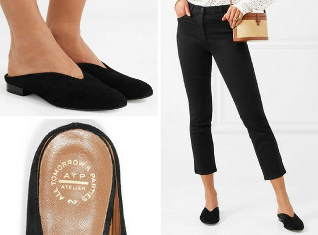 ATP Atelier Attractive Albi Suede Slippers