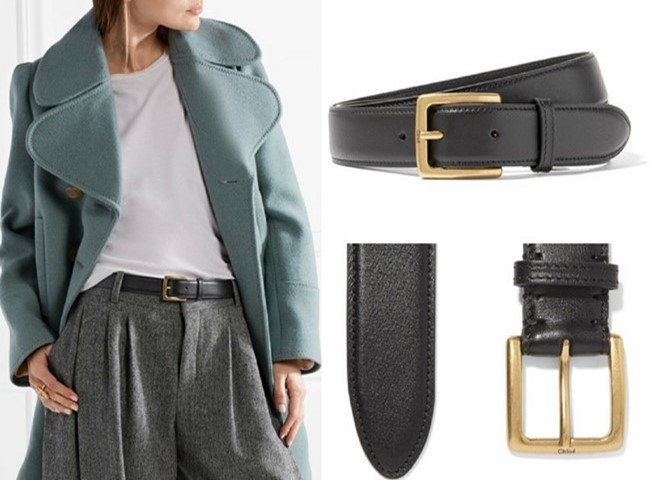 Chloé Lovely Leather Belt