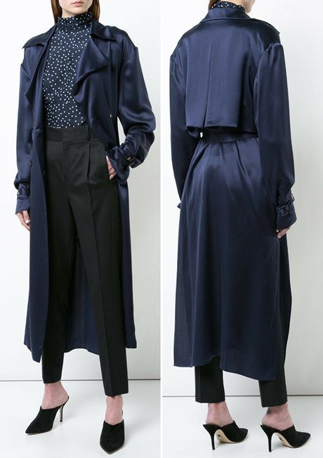 MAGDA BUTRYM long belted trench coat