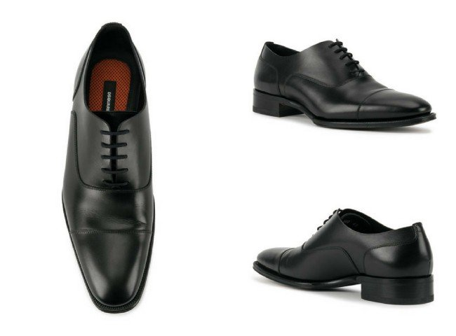 DSQUARED2 lace up Oxford shoes