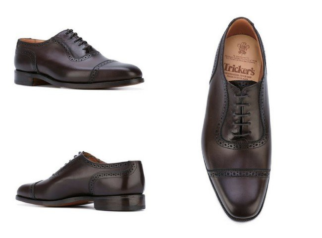 TRICKERS classic oxford shoes