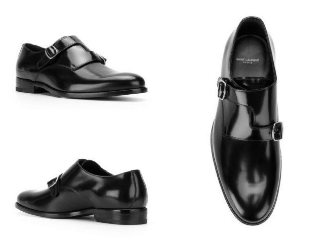 SAINT LAURENT Dare 25 monkstrap shoes