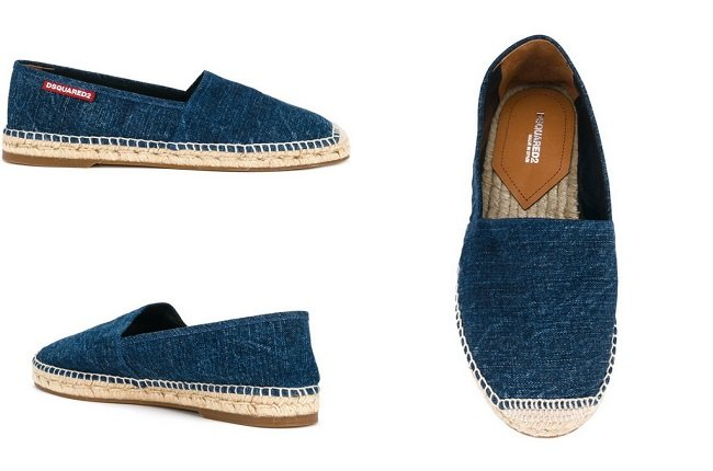 Dsquared2 denim espadrilles