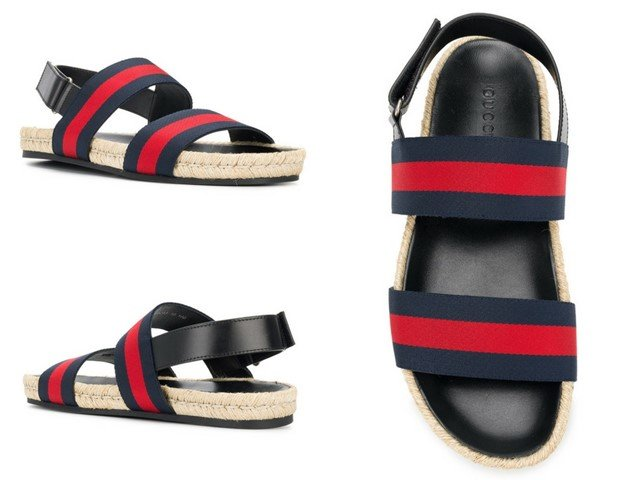 GUCCI Gucci Web sandals
