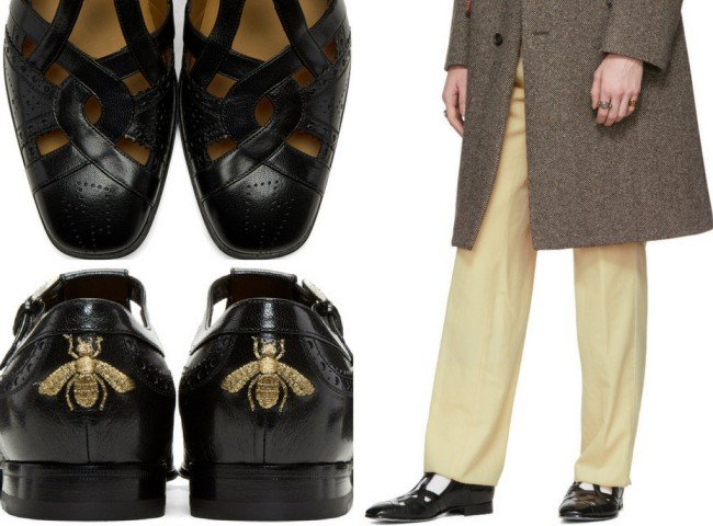 Gucci Black Thesis Loafers