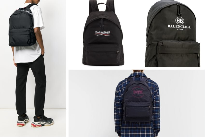 2587130b5f Top 9 Minimalist Balenciaga Men s Backpacks in 2018