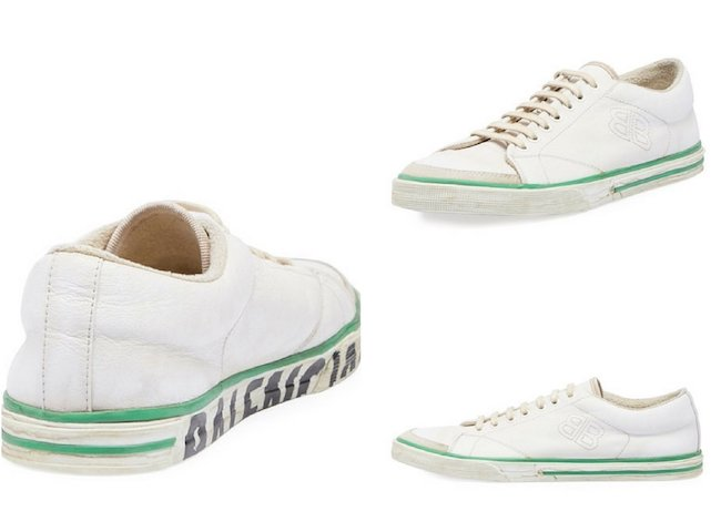 Balenciaga Match Runway Low-Top Sneaker