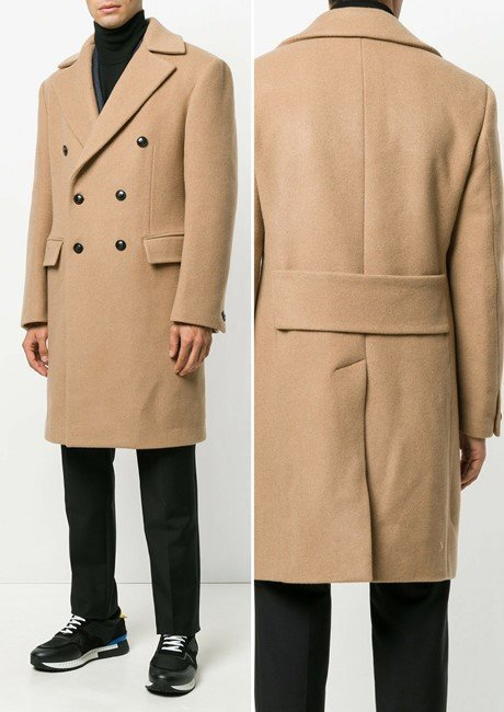 VERSACE classic double breasted coat