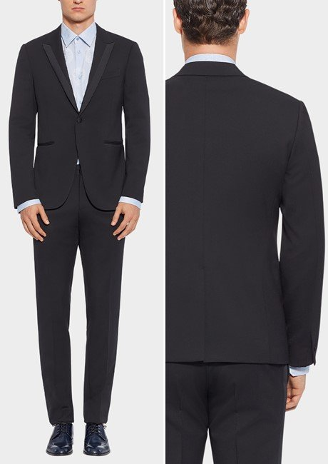 SINGLE BREASTED TUXEDO JACKET