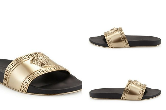 Men's Medusa-Head Slide Sandal