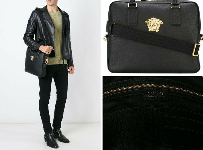 VERSACE Medusa laptop bag