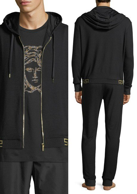 Versace Hooded Sweat Jacket
