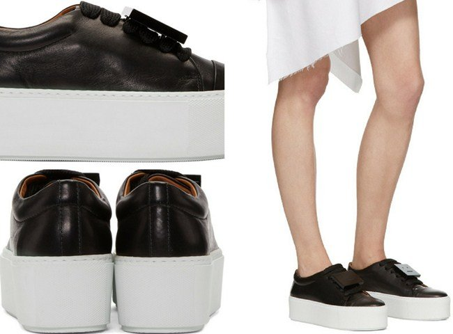 35378a0733 Top 14 Most Minimalist Acne Studios Women's Footwear Ever Designed