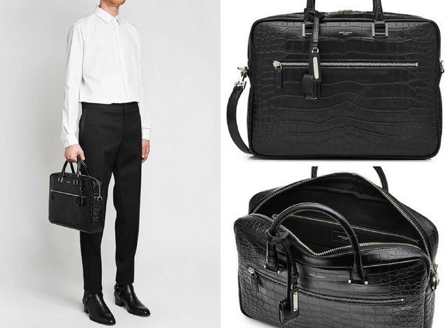 Top 27 Black Luxury Fashion Designer Briefcases for Men in 2018 38015d2481