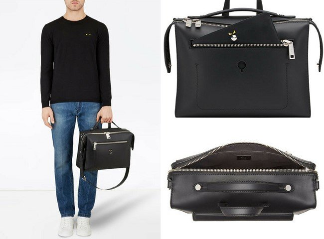 11ce2438b9 Best-selling Black Totes, Duffles, Briefcases & Messenger Bags for Men